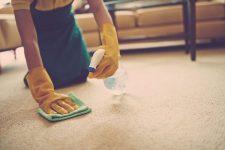 Как почистить ковёр в домашних условиях?