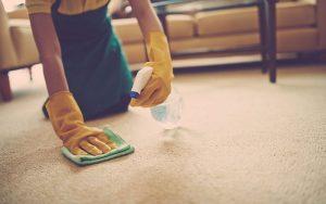 Чистка ковров в домашних условиях